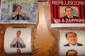 SARCASMO NAPOLETANO: SULLE BANCARELLE,I POLITICI STAMPATI SULLA CARTA IGIENICA