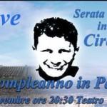 """""""BUON COMPLEANNO IN PARADISO"""",serata di beneficenza al teatro Totò in memoria di Ciro Esposito"""