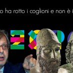 """Sgarbi sui bronzi : """"Reggio ha rotto i coglioni e non è in Italia"""""""