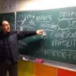 -Video- LEZIONE DI NAPOLETANITA' IN UNA SCUOLA ELEMENTARE FRANCESE
