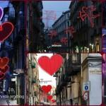 SAN VALENTINO A NAPOLI, LUMINARIE ROMANTICHE NELLA CITTA' DELL'AMORE