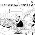 Razzismo a Verona: Sito sportivo rappresenta Napoli con un cumulo di spazzatura