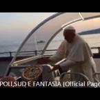 """-Video- PAPA FRANCESCO A NAPOLI: UNA PIZZA """" AL VOLO """" IN REGALO!"""