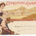Expo d'igiene di Napoli del 1900