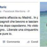 Nina Moric offende Napoli: è polemica