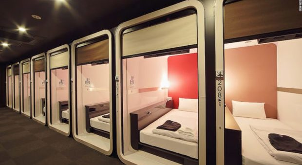 Napoli, il primo hotel in Italia dove puoi dormire in aereoporto